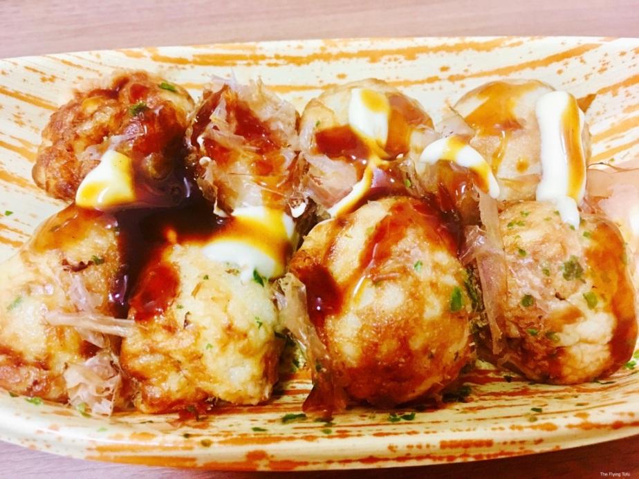 Chapter 149: Takoyaki (Octopus Balls) & Agedashi Tofu (Deep Fried Tofu with DashiBroth)